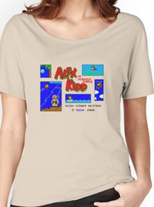 Alex Kidd in Miracle World [title screen] Women's Relaxed Fit T-Shirt