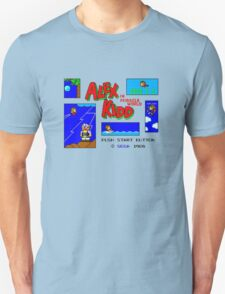 Alex Kidd in Miracle World [title screen] Unisex T-Shirt