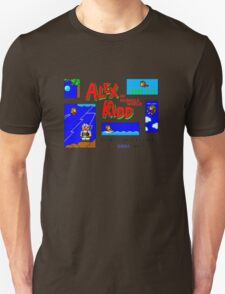 Alex Kidd in Miracle World [title screen] T-Shirt