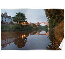 Ironbridge Reflections Poster