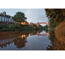 Ironbridge Reflections Photographic Print