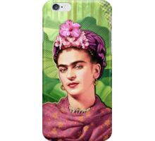 Frida Kahlo - Iconic Mexican Painter iPhone Case/Skin