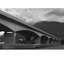 Bowen Bridge Tasmania Photographic Print