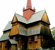 Ringebu stavkyrkje by Jan Stead JEMproductions
