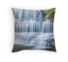 Lady Barron Falls Tasmania Throw Pillow