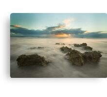 Cottesloe Washout Canvas Print
