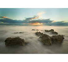 Cottesloe Washout Photographic Print