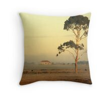 A red roof in Gippsland Throw Pillow