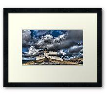 Stoer Lighthouse HDR Framed Print