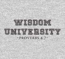 WISDOM UNIVERSITY BLK by NatanYah Ysrayl