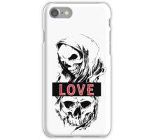 SKULL LOVE iPhone Case/Skin