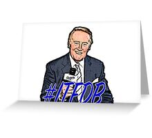 Vin Scully  Greeting Card