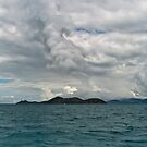 Storm over the Whitsundays by Werner Padarin