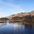Loch Shiel at Glenfinnan. by John Cameron