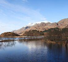 Loch Shiel at Glenfinnan. by John Cameron