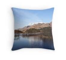 Loch Shiel at Glenfinnan. Throw Pillow