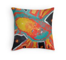 Voices from the Past Throw Pillow