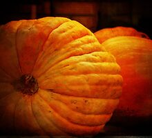 Big Orange Pumpkins by Clare Colins