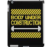 Body under construction iPad Case/Skin