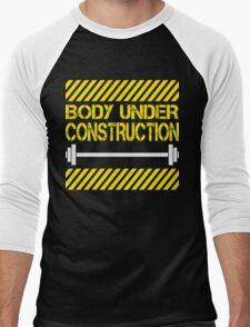 Body under construction Men's Baseball ¾ T-Shirt