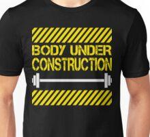 Body under construction Unisex T-Shirt