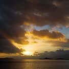 Sunset at Cuill Bay,Duror. by John Cameron