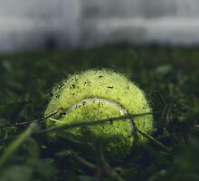 Tennis ball by Jeremy Ybarra
