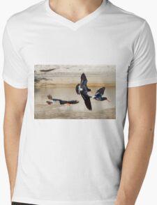 Down The Estuary Mens V-Neck T-Shirt