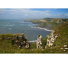 Coastal View Photographic Print