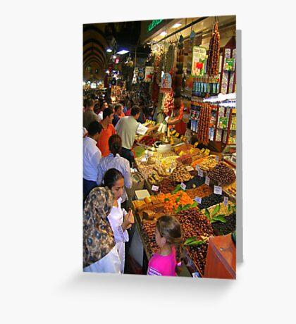 Spice Bazaar Greeting Card
