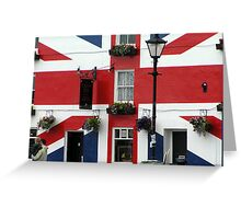 the Union Inn Saltash Greeting Card
