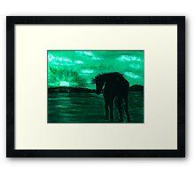 Emerald Dreams Framed Print