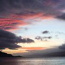 Late evening,Loch Linnhe. by John Cameron