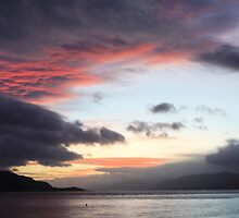 Late evening,Loch Linnhe. by John Cameron