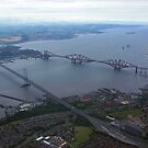 The Forth Bridges III by Tom Gomez