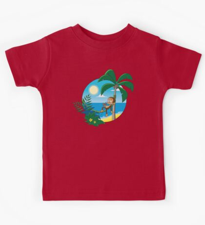 Lazy Monkey Kids Tee