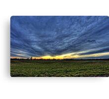 When Earth Meets Sky Canvas Print