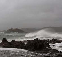 Winter Storm at Glenuig. by John Cameron