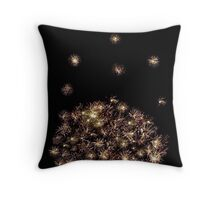 Night Sky Dazzle Throw Pillow