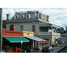 Streetscape, Castlemaine VIC Photographic Print
