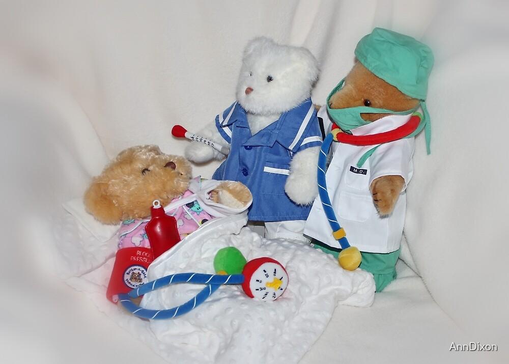 Teddy Bear Ward by AnnDixon