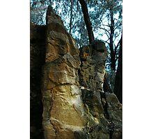 Rocks - Bendigo Photographic Print