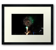 Melbourne New Year 2014/15 4 Framed Print