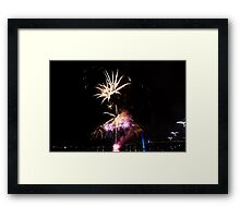 Melbourne New Year 2014/15 5 Framed Print