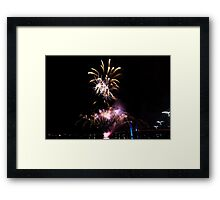 Melbourne New Year 2014/15 6 Framed Print