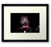 Melbourne New Year 2014/15 7 Framed Print