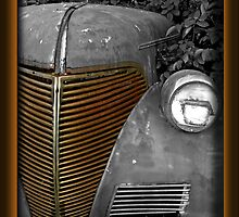 Rusty Old Car by Jenifer