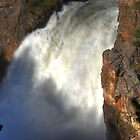 Upper Falls Yellowstone by pinkT