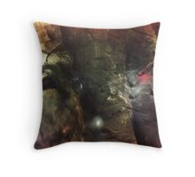 Deeper into the Ice Throw Pillow