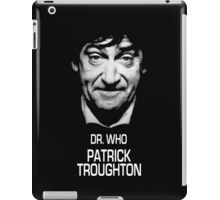 Dr. Who Patrick Troughton iPad Case/Skin